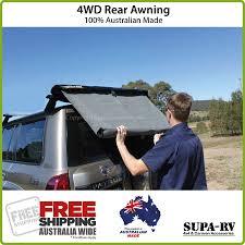 Car Awnings Brisbane Rear Awning 4x4 Car Awning 4wd Supa Peg Ebay
