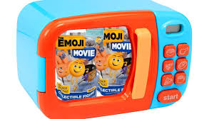 the emoji movie toys for microwave kitchen kids games playset