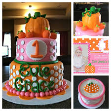 birthday cakes for halloween pumpkin first birthday cake things i u0027ve made pinterest
