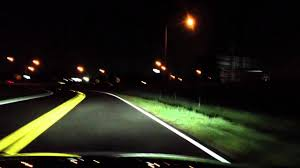 audi headlights in dark full led headlights driving at night youtube