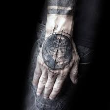 80 globe tattoo designs for men traveler ink ideas