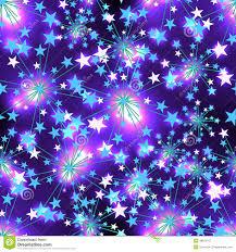 Purple Color Star Blue Light Seamless Pattern Stock Vector Image 48661167