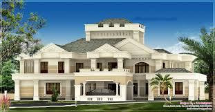 joyous luxury house plans in kerala 7 square feet luxury villa