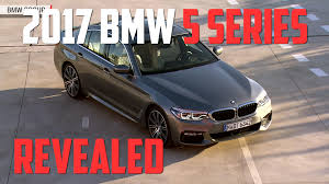 the all new 2017 bmw 5 series sedan starts at 52 195 autoblog