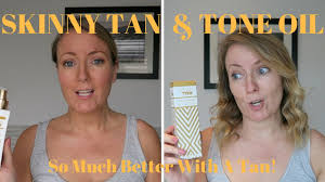Always Tan Skin And Body Skinny Tan U0026 Tone Oil Demo U0026 Review Youtube