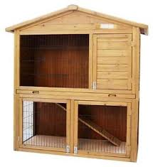 Happy Hutch Company Double Rabbit Hutch Pet Supplies Ebay