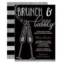 chagne brunch bridal shower invitations brunch and shower invitations announcements zazzle