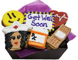 get well soon cookies get well soon cookie basket cookiegrams usa