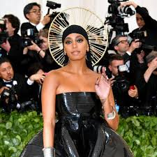 solange met gala dress 2018 popsugar fashion