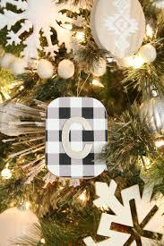 black u0026 white christmas tree decor