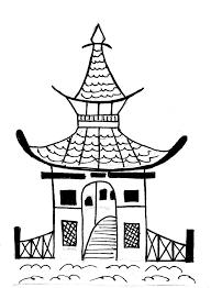 Precieux Art Home Design Japan by A Pagoda By Barrymonster Art Ideas Pinterest Music Class