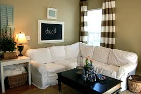 Canvas Sofa Slipcover Decorating Outstanding Sectional Slipcovers For Living Room