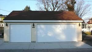 single car garage door paint a garage door to look like wood