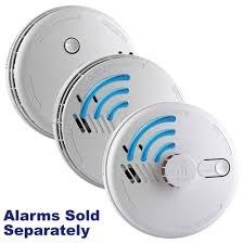 aico mains powered radio interlinked smoke alarms with lithium