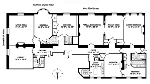 New York Apartments Floor Plans Face Down The Dakota Co Op Board And Win This Apartment Curbed Ny