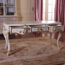 Classic Office Desk China Baroque Style Luxury Executive Office Desk European