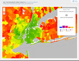 New York City Area Map by Suburban Sprawl Cancels Carbon Footprint Savings Of Dense Urban