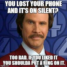 lost your phone funny will ferrell meme