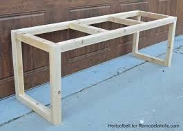 bench making wooden benches how to make outdoor concrete and