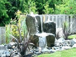 Rock Water Features For The Garden Garden Water Feature Ideas Hydraz Club
