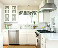 ideas for kitchen window treatments kitchen window curtain ideas vrboska hotel com
