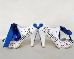 wedding shoes las vegas wedding shoes handpainted customized bridal shoes las