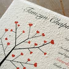 plantable wedding invitations seeded paper wedding invitations flamingo