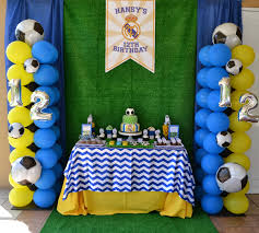soccer party supplies interior design top soccer themed birthday party decorations