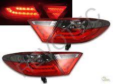 2015 toyota camry tail light 2015 2017 toyota camry 4dr sedan red smoke led tail lights ls set