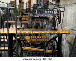 Antique Singer Sewing Machine Table Table With A Singer Sewing Machine In Singer Bar Kazimierz