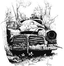 old cars drawings forgotten treasures asmalltowndad u0027s weblog