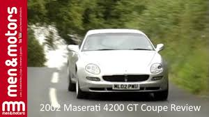 maserati gransport manual 2002 maserati 4200 gt coupe review youtube