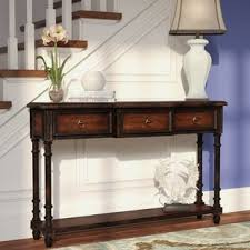 robinwood 3 drawer console table console sofa tables styles for your home joss main
