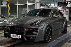 porsche widebody rear techart magnum porsche cayenne modulare 03 beautiful cars