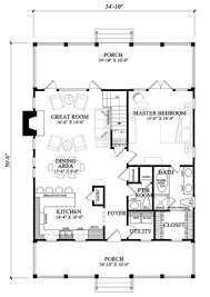 country style house plan 3 beds 2 5 baths 1740 sq ft plan 137