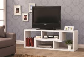 design it you way white bookcase tv stand by coaster 800330