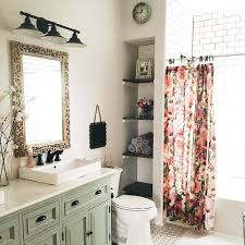 Small Bathroom Curtain Ideas Colors Best 20 Floral Shower Curtains Ideas On Pinterest White Sink
