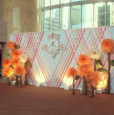 wedding backdrop hk hong kong four seasons hotel wedding backdrop flores de papel