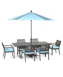 CLOSEOUT Holden Outdoor Aluminum Pc Dining Set  X - Outdoor aluminum furniture