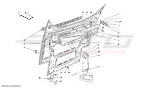 ferrari front drawing ferrari 348 body parts at atd sportscars atd sportscars