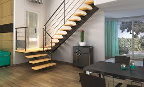 escalier bois design groupe riaux accueil