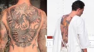 leave ben and adam alone a case for the male back tattoo