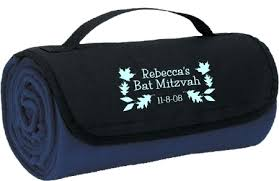 bar mitzvah party favors personalized fleece throw blanket 15 56 party bat