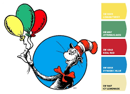 paint colors from colorsnap by sherwin williams dr seuss