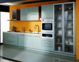 Kitchen  Grey Kitchen Furniture With Small Stainless Steel Wall - Commercial kitchen sinks stainless steel