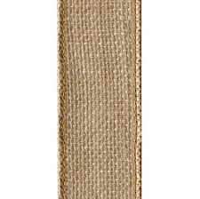burlap ribbon offray wired edge burlap craft ribbon 2 1 2 inch wide