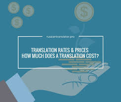 translation rates prices how much does a translation cost