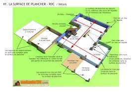 surface habitable minimum d une chambre surface de plancher illustration sur un projet de maison
