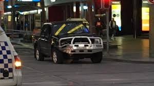 swanston street crash ballarat man allegedly stole car in st kilda