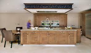 grosvenor walnut island entertaining contemporary kitchen